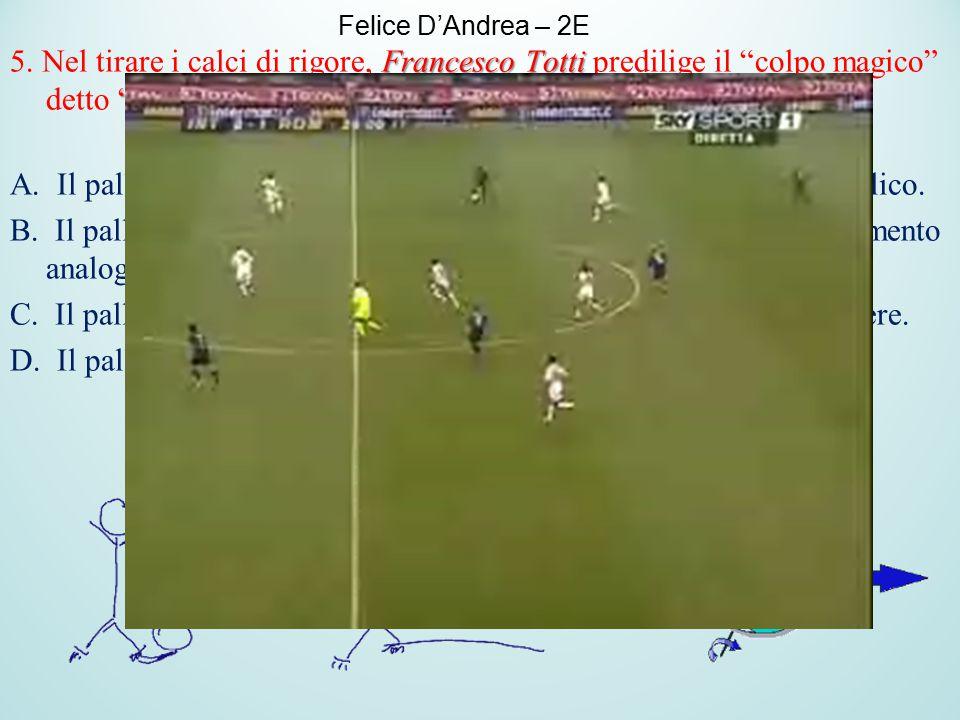 """Francesco Totti """"cucchiaio"""". 5. Nel tirare i calci di rigore, Francesco Totti predilige il """"colpo magico"""" detto """"cucchiaio"""". Per realizzare tale colpo"""