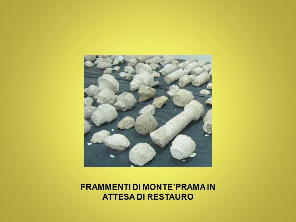 FRAMMENTI DI MONTE'PRAMA IN ATTESA DI RESTAURO