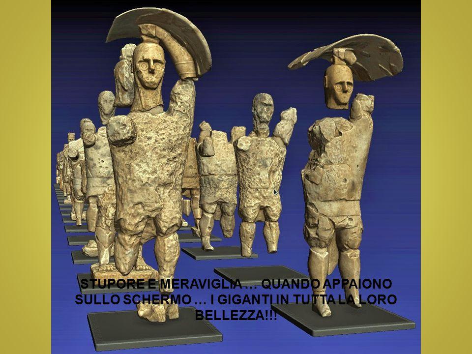STUPORE E MERAVIGLIA … QUANDO APPAIONO SULLO SCHERMO … I GIGANTI IN TUTTA LA LORO BELLEZZA!!!