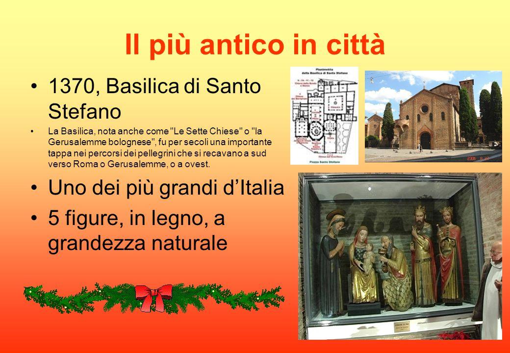 Il più antico in città 1370, Basilica di Santo Stefano La Basilica, nota anche come