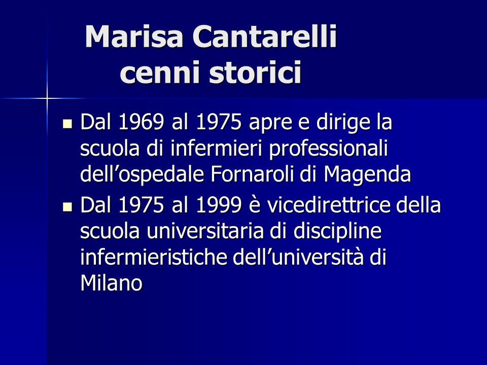 Dal 1969 al 1975 apre e dirige la scuola di infermieri professionali dell'ospedale Fornaroli di Magenda Dal 1969 al 1975 apre e dirige la scuola di in