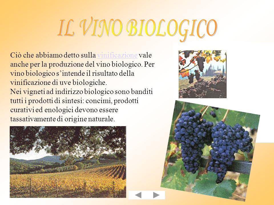 Un'errata procedura di vinificazione può dare origine ad un altro prodotto di largo consumo: l'aceto di vino.
