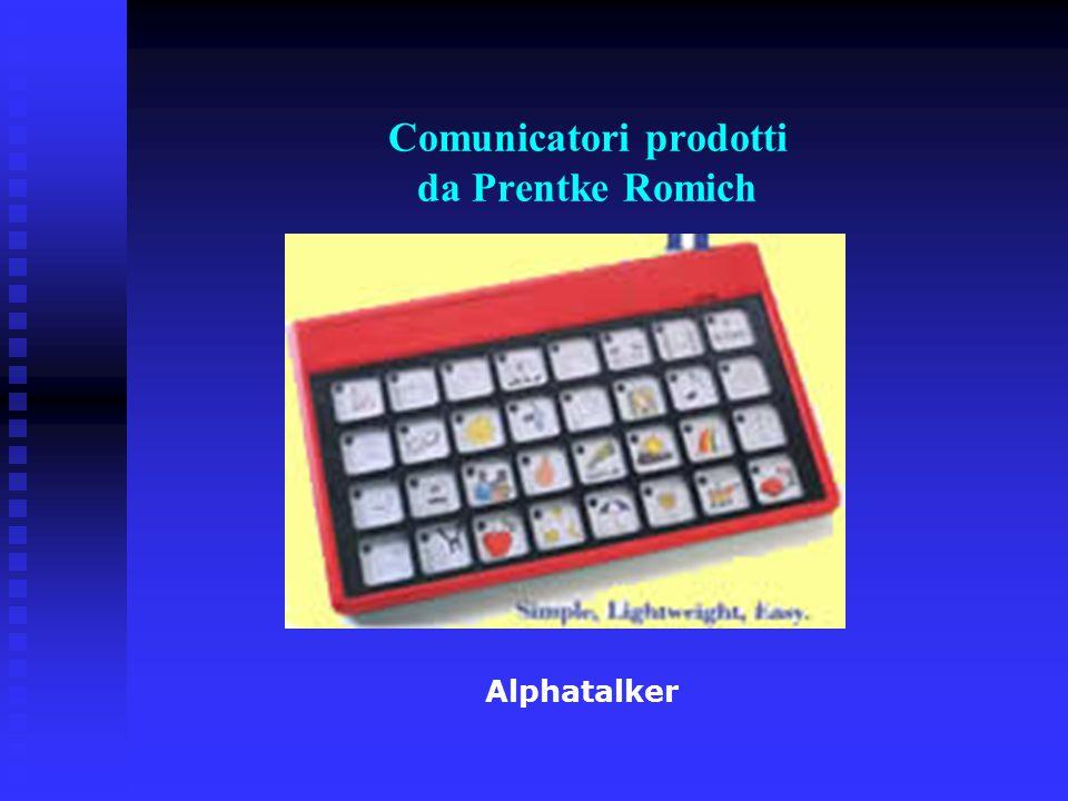 Comunicatori prodotti da Prentke Romich Alphatalker