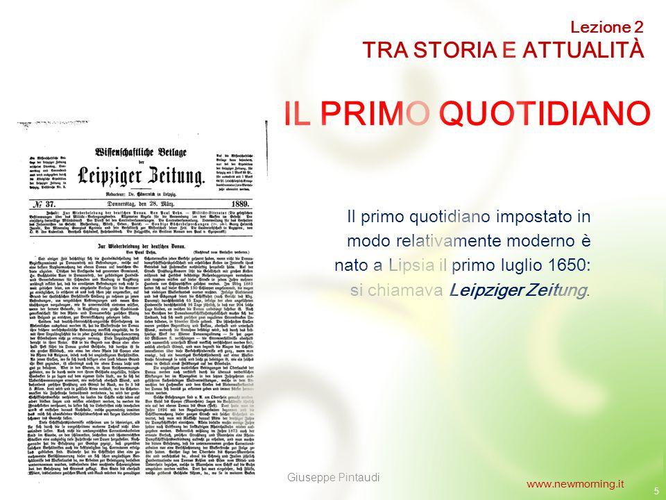 6 I PRIMI QUOTIDIANI ITALIANI 1 I primi giornali quotidiani italiani a essere pubblicati sono stati la Gazzetta di Mantova (1664) e la Gazzetta di Parma (1735).