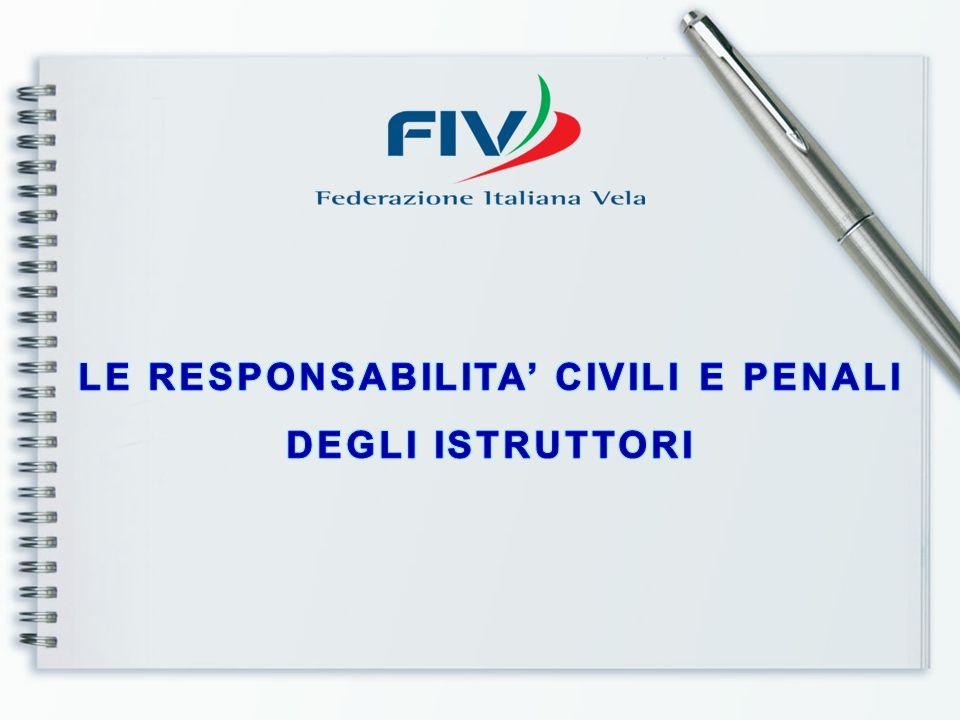 RESPONSABILITA' CIVILE PENALE COMPORTAMENTI OMISSIVI COMMISSIVI