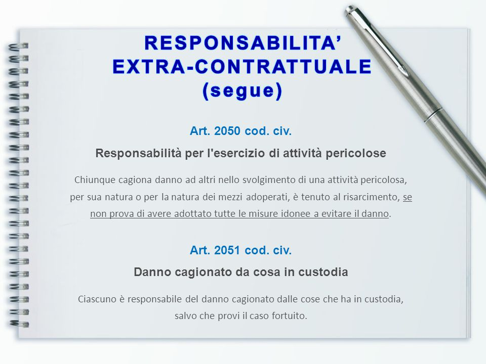 Art.2055 cod. civ.