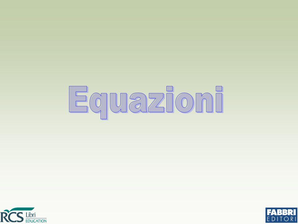Cambiando il segno di ciascun termine di un'equazione se ne ottiene una equivalente a quella data.