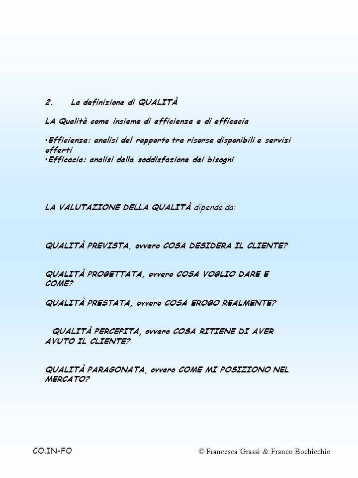 © Francesca Grassi & Franco BochicchioCO.IN-FO 2.