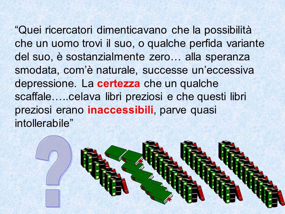 L'abbondanza di informazioni può rovesciarsi nel suo contrario: non basta avere accesso teorico ad una informazione, occorre anche che tale informazione sia effettivamente fruibile.
