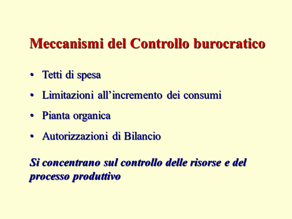 Tetti di spesaTetti di spesa Limitazioni all'incremento dei consumiLimitazioni all'incremento dei consumi Pianta organicaPianta organica Autorizzazion