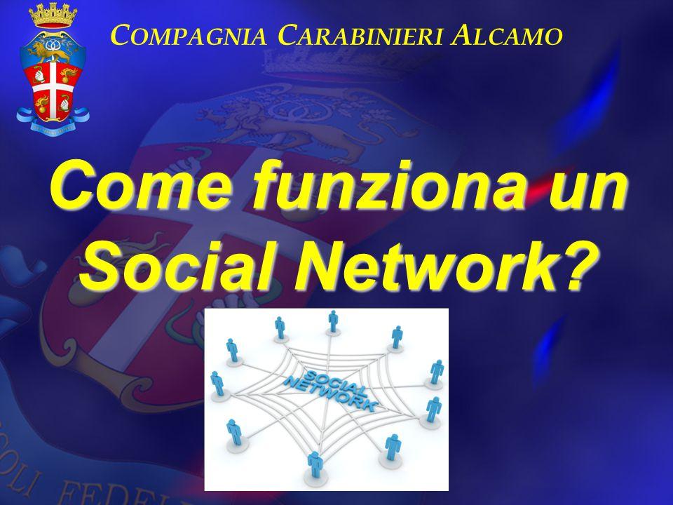 Come funziona un Social Network? C OMPAGNIA C ARABINIERI A LCAMO