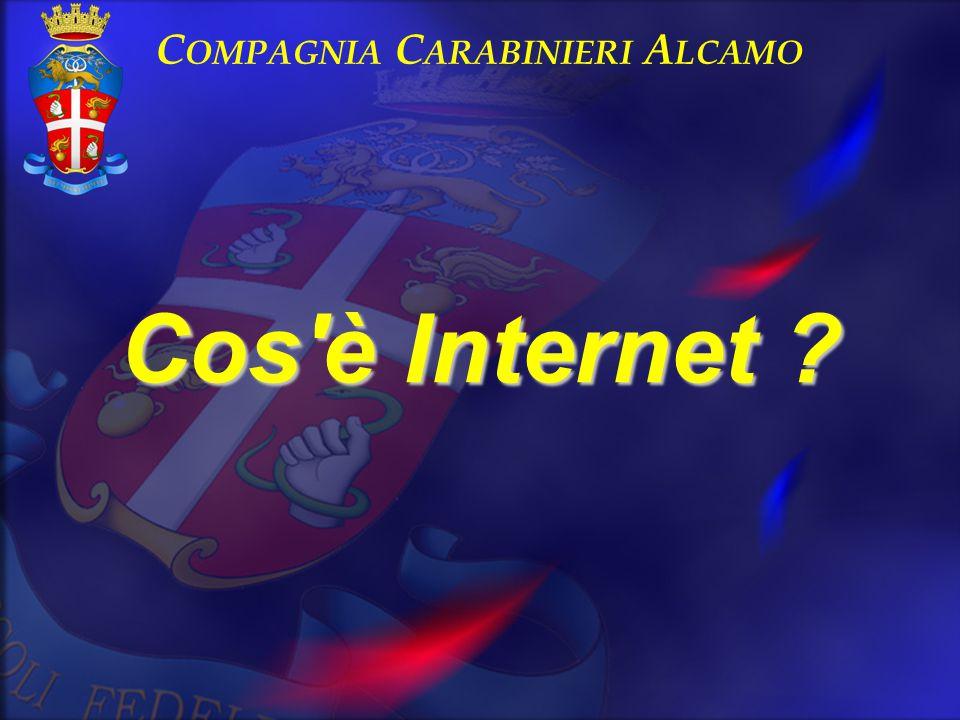 Cos'è Internet ? C OMPAGNIA C ARABINIERI A LCAMO