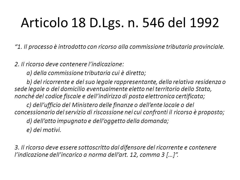 Articolo 4 D.Lgs.n.