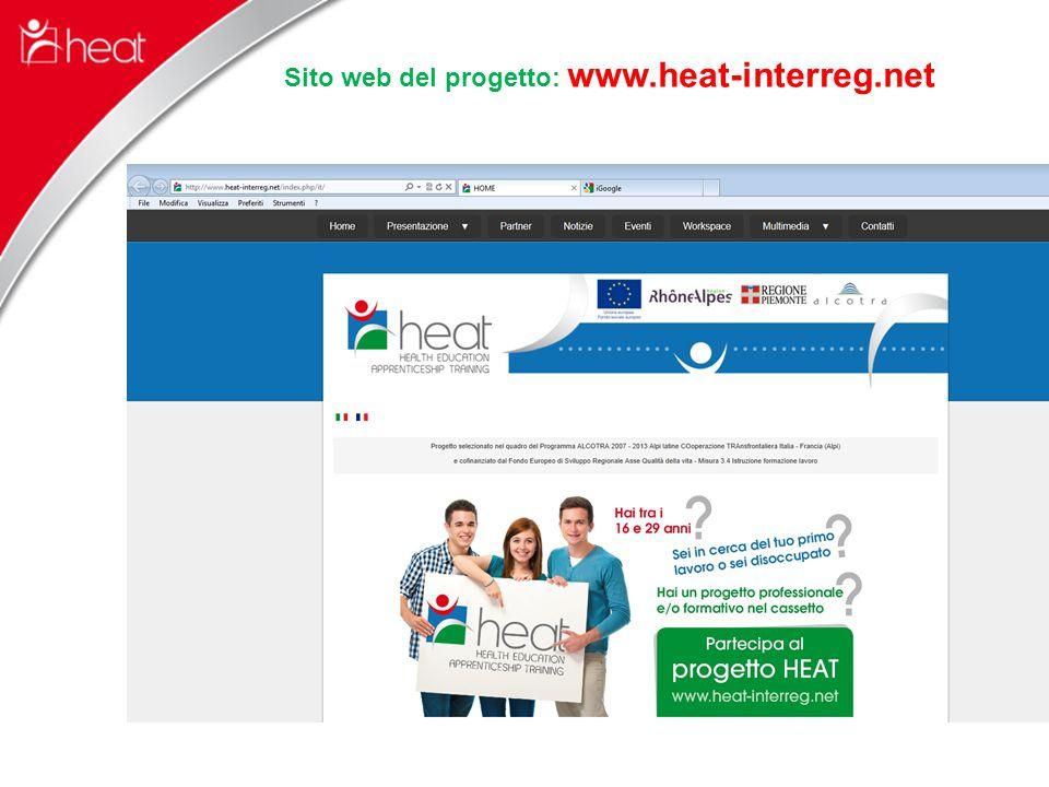 Sito web del progetto: www.heat-interreg.net