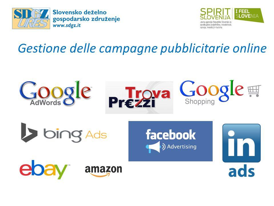 Gestione delle campagne pubblicitarie online