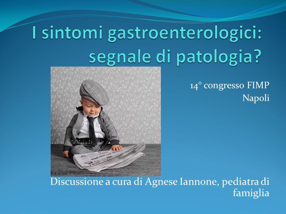 14° congresso FIMP Napoli Discussione a cura di Agnese Iannone, pediatra di famiglia