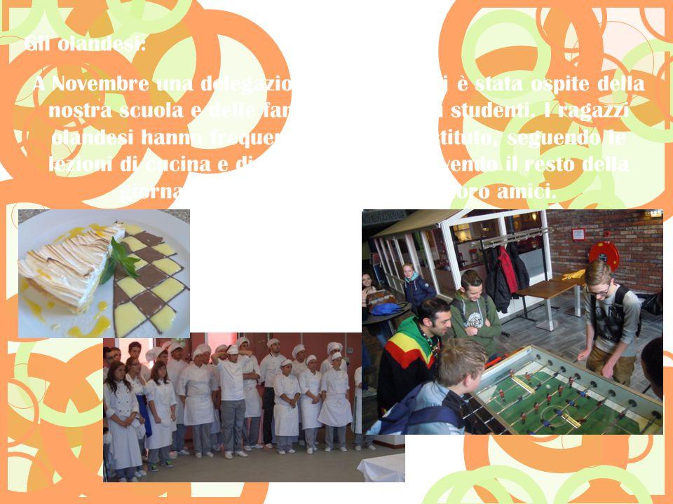 A Novembre una delegazione di 8 studenti è stata ospite della nostra scuola e delle famiglie dei nostri studenti. I ragazzi olandesi hanno frequentato