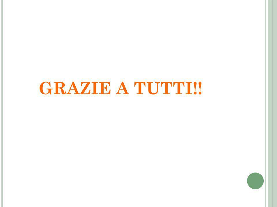 GRAZIE A TUTTI!!