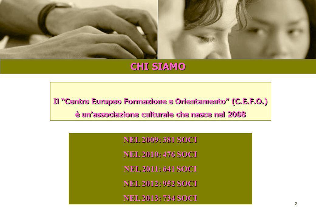CENTRO EUROPEO FORMAZIONE E ORIENTAMENTO C.E.F.O. EURODESK - UNIVERSITA' LA SAPIENZA DI ROMA ROMA, 29 GENNAIO 2014 PROGETTO WHITE: IN PARTENZA PER L'E