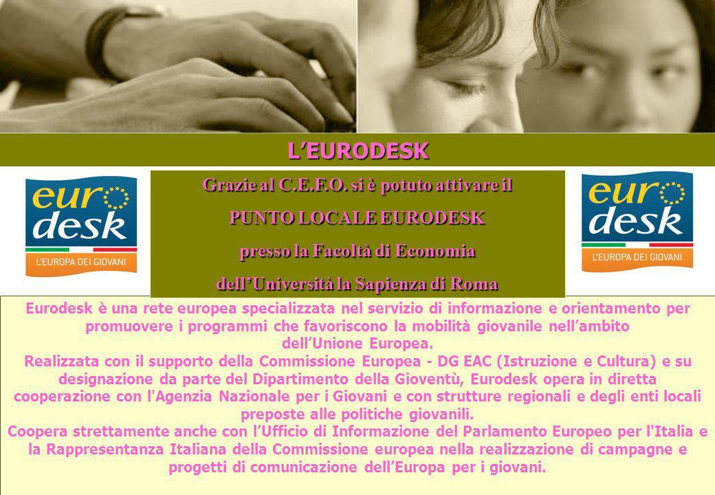 """2 CHI SIAMO Il """"Centro Europeo Formazione e Orientamento"""" (C.E.F.O.) è un'associazione culturale che nasce nel 2008 NEL 2009: 381 SOCI NEL 2010: 476 S"""