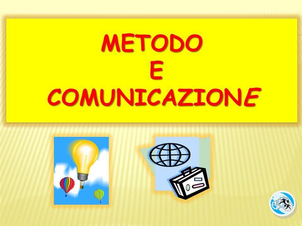METODO E COMUNICAZIONE