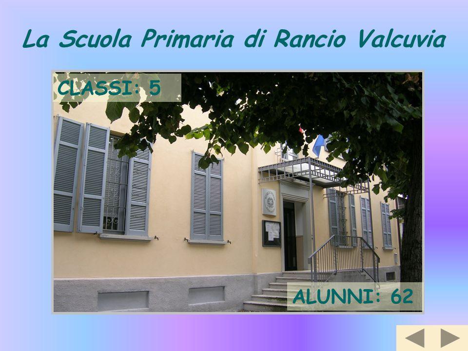 La Scuola Primaria di Rancio Valcuvia CLASSI: 5 ALUNNI: 62