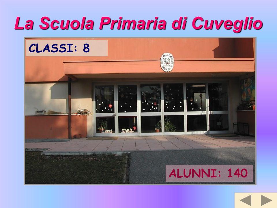 La Scuola Primaria di Cuveglio CLASSI: 8 ALUNNI: 140