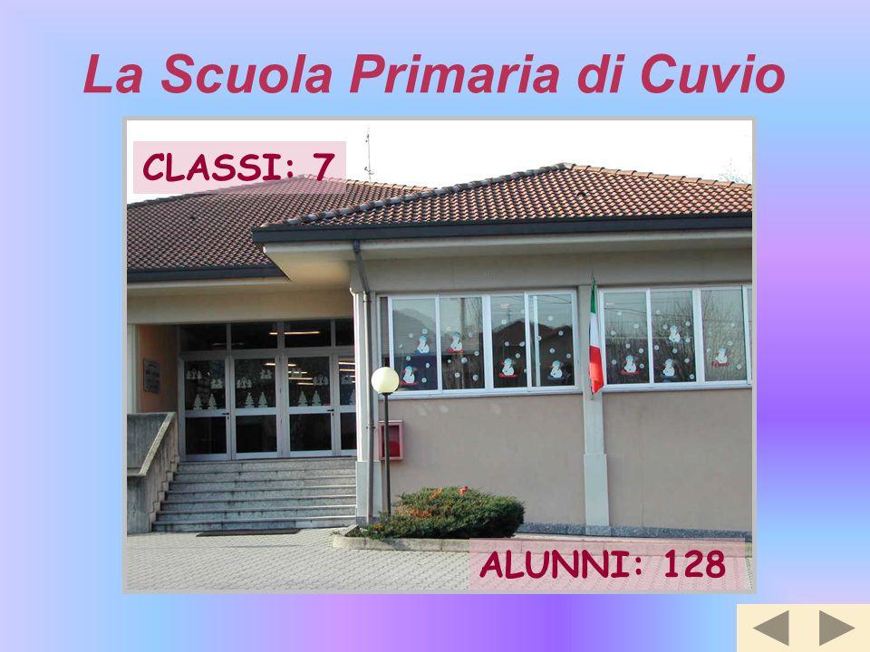 La Scuola Primaria di Cuvio CLASSI: 7 ALUNNI: 128