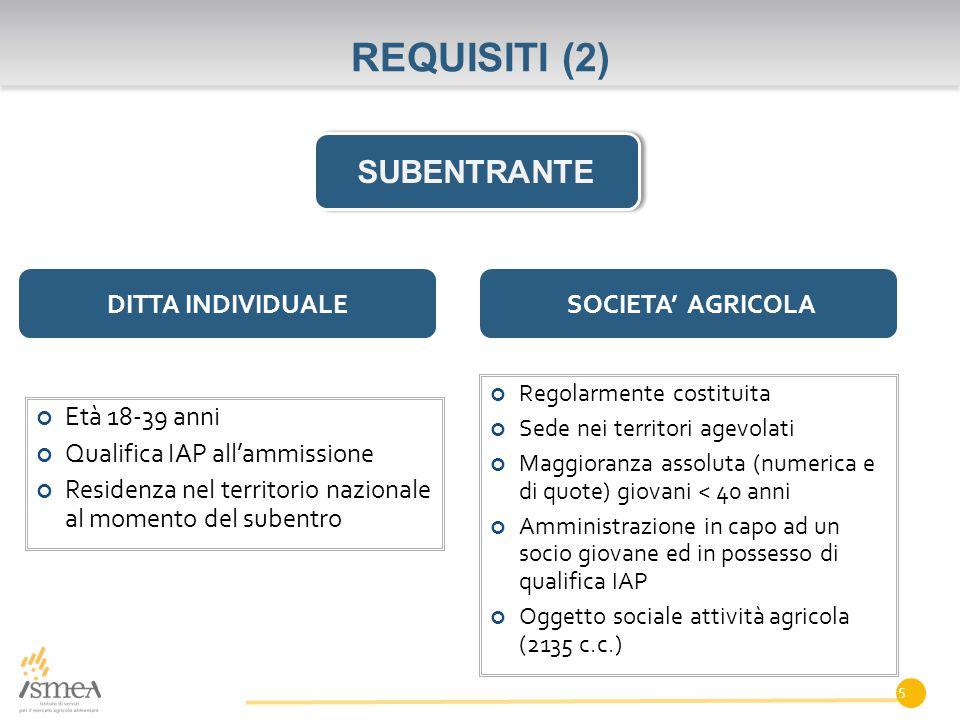 COME PRESENTARE LA DOMANDA (2) WWW. ISMEA. IT 16