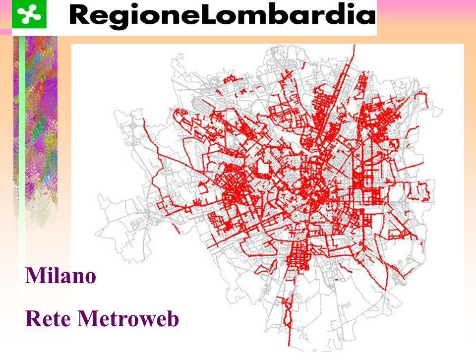 Milano Rete Metroweb Quartieri Serviti
