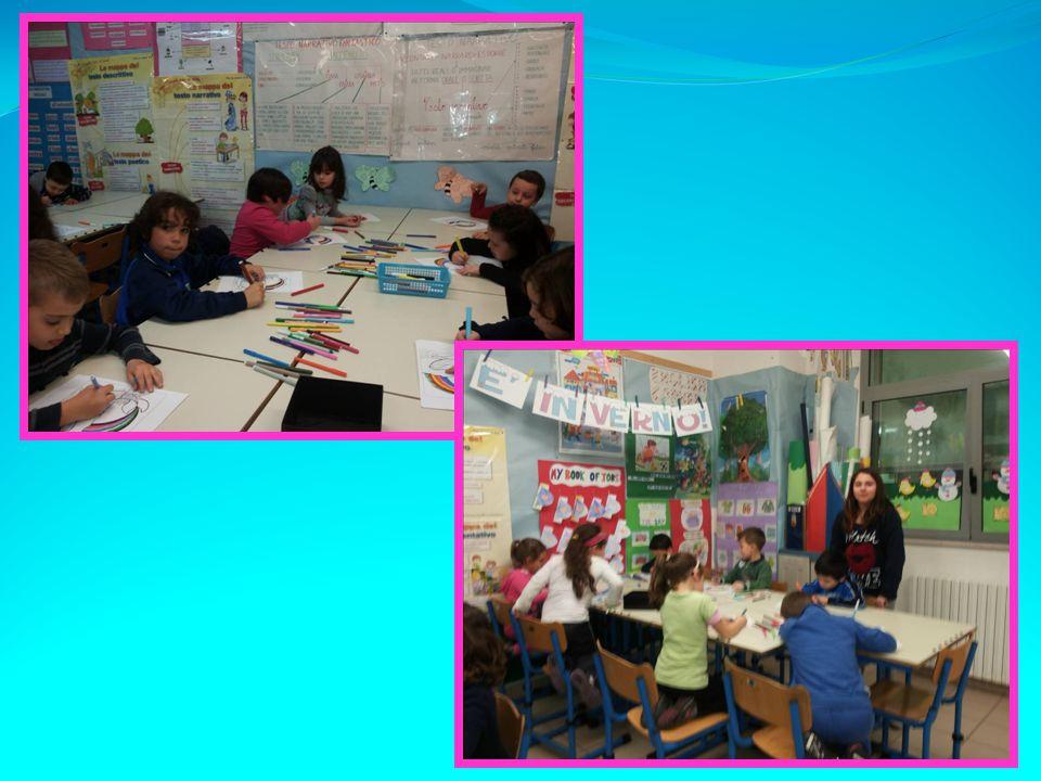 I bambini sono stati coinvolti in un piccolo laboratorio di lettura con una lettura animata e delle attività creative.