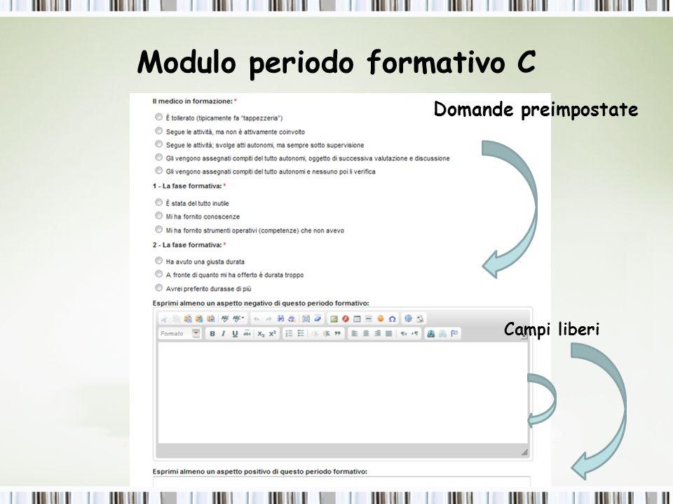 Modulo Periodo Formativo D Prelievo documenti: Scansione e Archiviazione nel sito Dott.