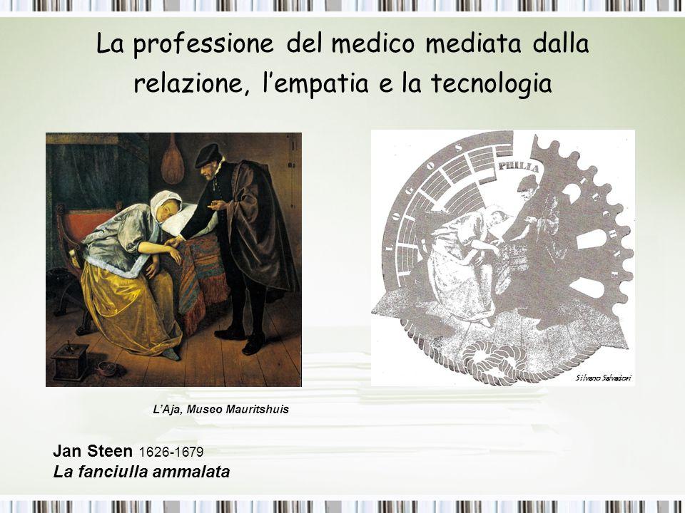La professione del medico mediata dalla relazione, l'empatia e la tecnologia Silvano Salvadori L'Aja, Museo Mauritshuis Jan Steen 1626-1679 La fanciul