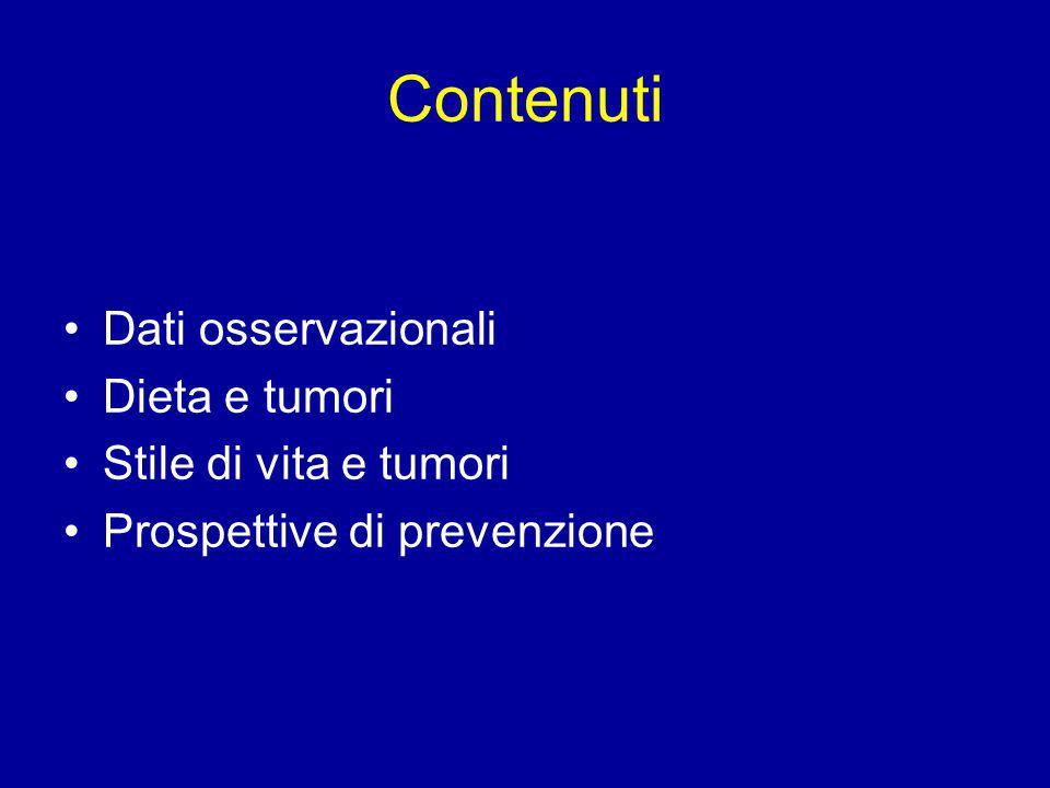 Markers di resistenza insulinica e mortalita' per tumori del coloretto Syndrome X: Trigliceridi sierici, LDL colesterolo, glicemia, pressione arteriosa, indice di massa corporea Mortalita': Registrata per 7 anni, IDC 9 (CEBP, 2001)