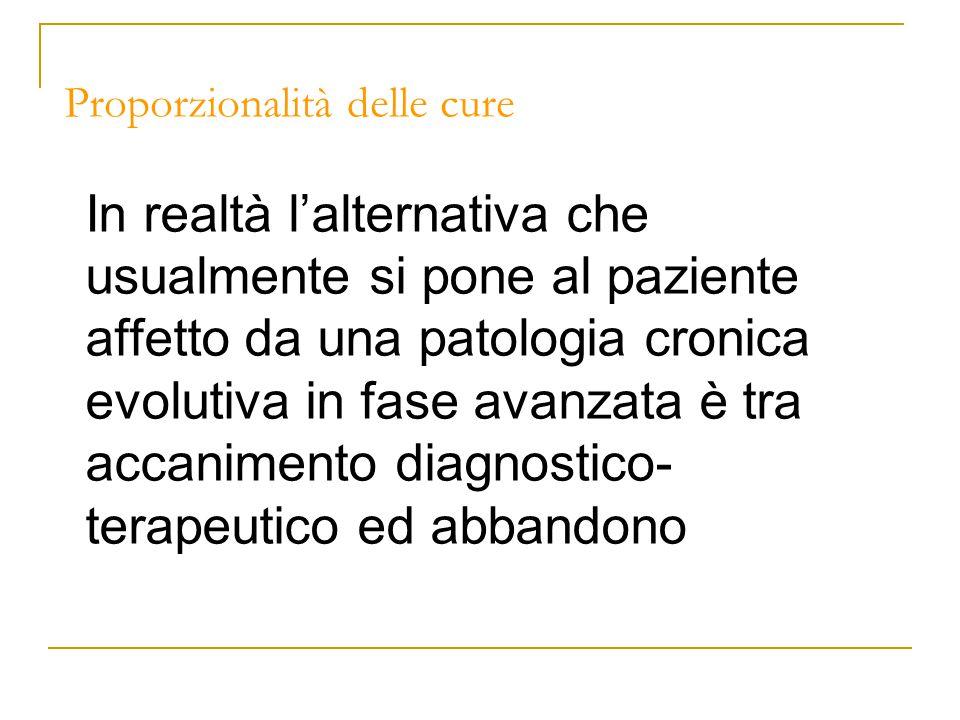 Le dichiarazioni anticipate di trattamento e le cure palliative Nel documento del CNB le cure palliative compaiono direttamente ed indirettamente tra le indicazioni esemplificate