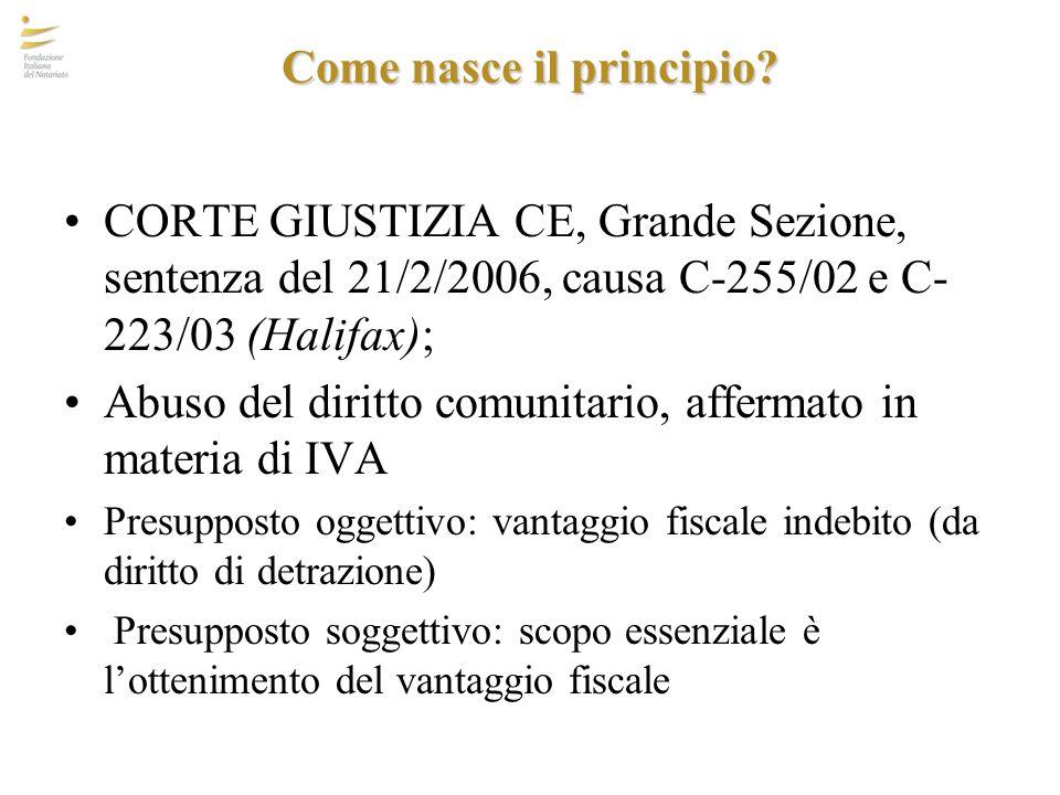 Come è stato trasposto nell'ordinamento italiano.