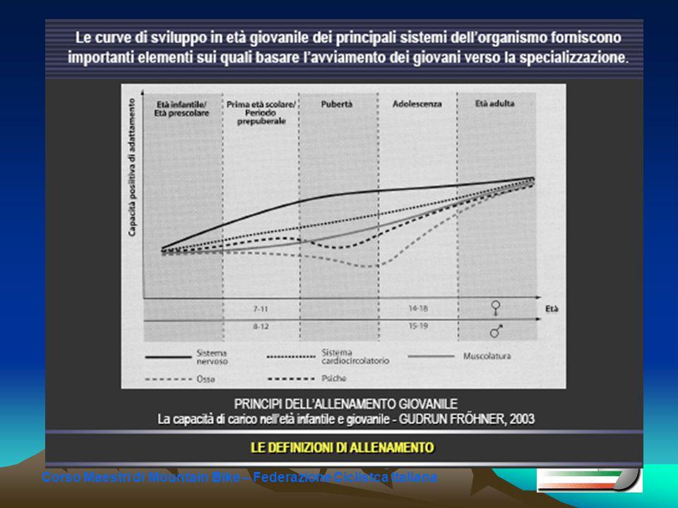Indicazioni generali Rispettare il grado di adattamento ai carichi di allenamento L'adattamento dipende da fattori endogeni ed esogeni Nell'età infantile sono importanti le fasi sensitive .