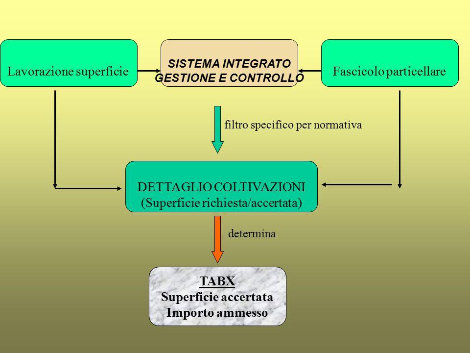 Tabella delle X ed Elenchi di liquidazione REGOLE per la fase di lettura, verifica e istruttoria delle domande e dei MS a) esiste sempre almeno una colonna Importo/quantità richiesto e una colonna Importo accertato b) se nell'istanza sono ricomprese delle superfici il cui accertamento determina la consistenza dell'importo, è sempre prevista la Sezione specifica in istruttoria Dettaglio superfici nella quale è esplicitato il controllo SIGC (Sistema Integrato Gestione Controllo) delle stesse c) se per un determinato Codazione il campo Importo/quantità richiesto è maggiore di 0 , il campo Azione (Z999) è 1 e quindi una istanza nella quale è espresso una richiesta entra SEMPRE in un Elenco
