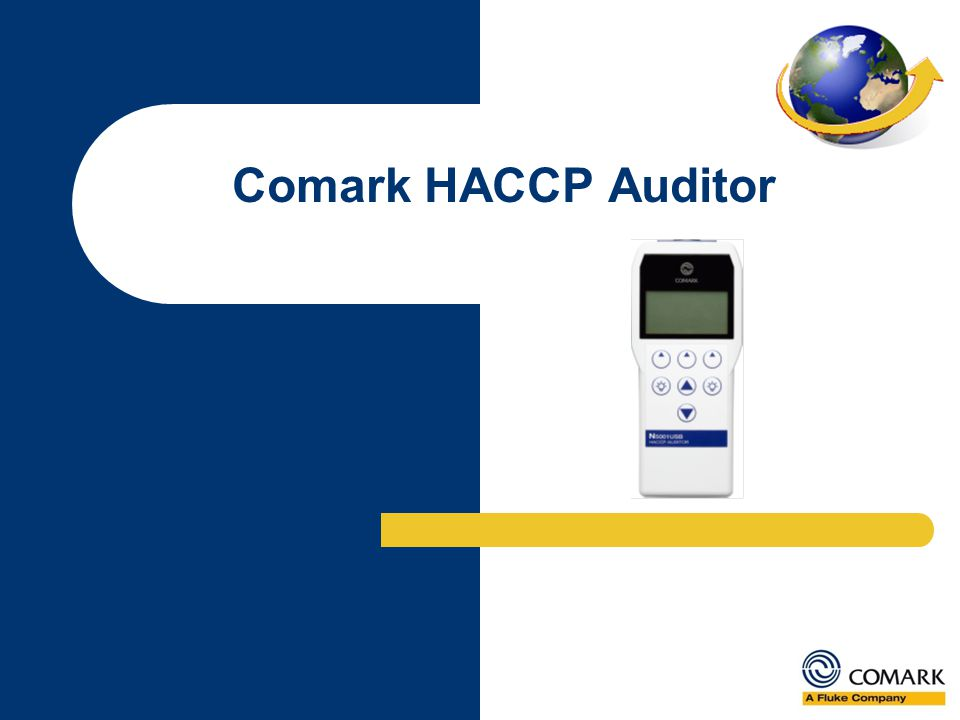 Comark HACCP Auditor