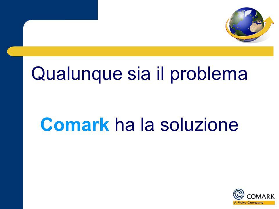 Qualunque sia il problema Comark ha la soluzione