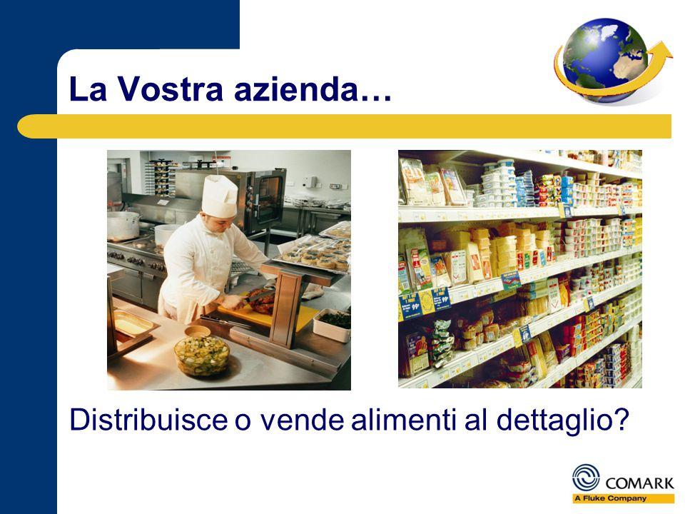 La Vostra azienda… Distribuisce o vende alimenti al dettaglio?