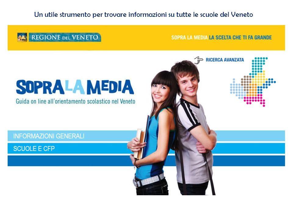 Un utile strumento per trovare informazioni su tutte le scuole del Veneto