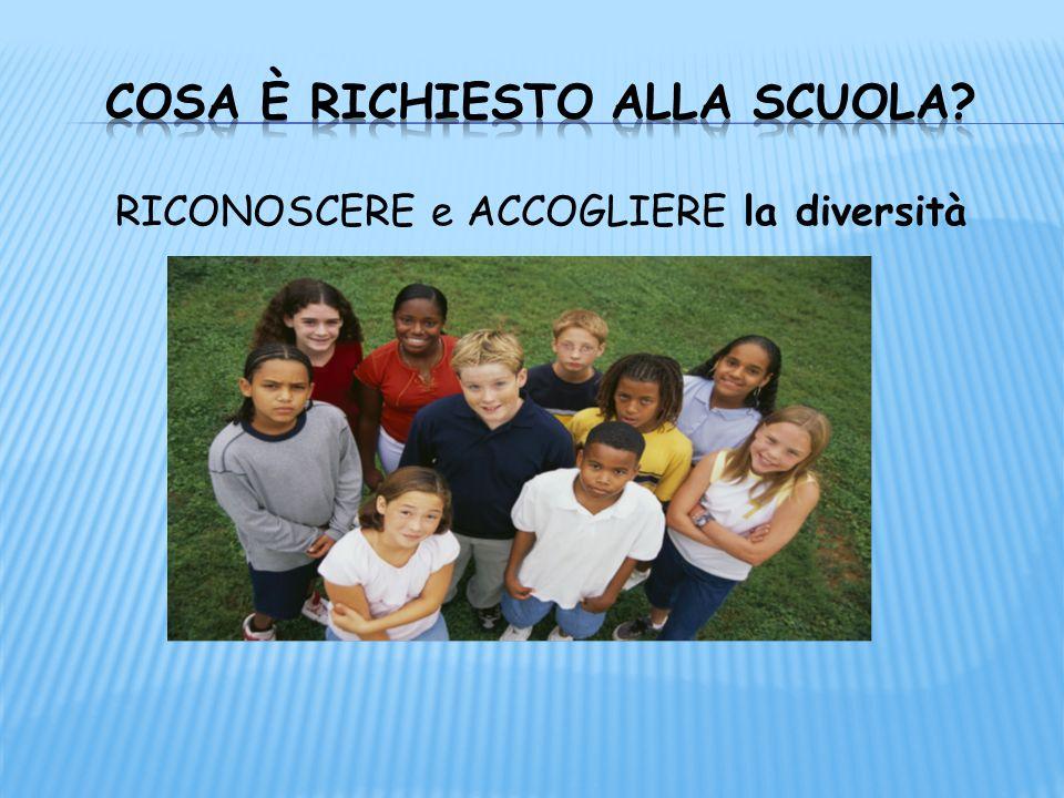 RICONOSCERE e ACCOGLIERE la diversità