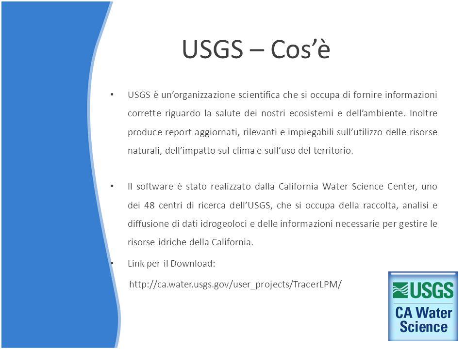 USGS – Cos'è USGS è un'organizzazione scientifica che si occupa di fornire informazioni corrette riguardo la salute dei nostri ecosistemi e dell'ambie