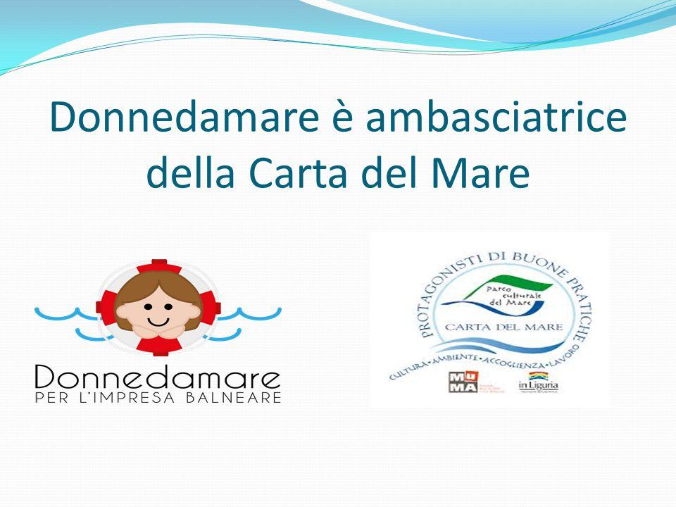 Donnedamare è ambasciatrice della Carta del Mare