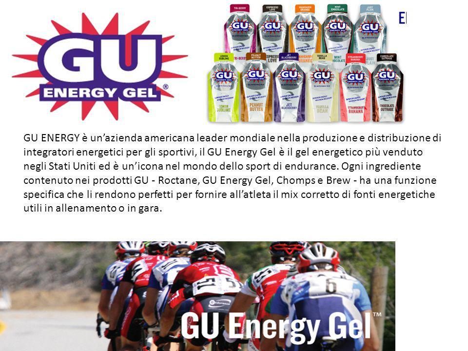 GU ENERGY è un'azienda americana leader mondiale nella produzione e distribuzione di integratori energetici per gli sportivi, il GU Energy Gel è il ge