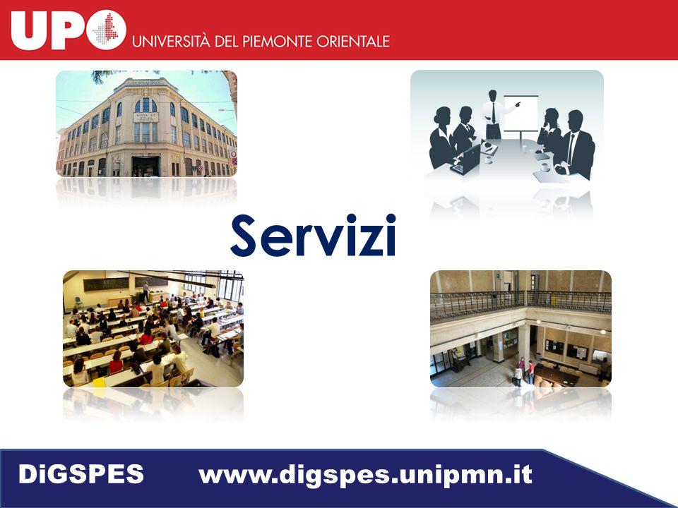 Servizi DiGSPES www.digspes.unipmn.it