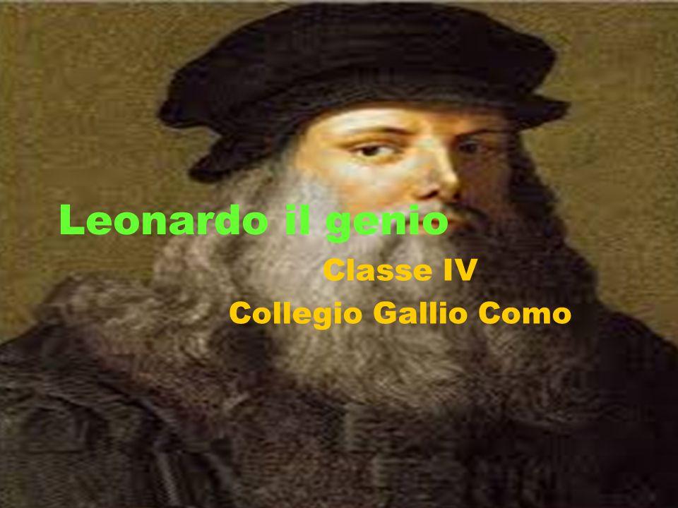 Leonardo il genio Classe IV Collegio Gallio Como