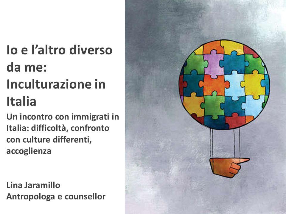 Storia del counselling interculturale 50 COUNSELLOR 60 70 L'altro Io Io e l'altro in relazione