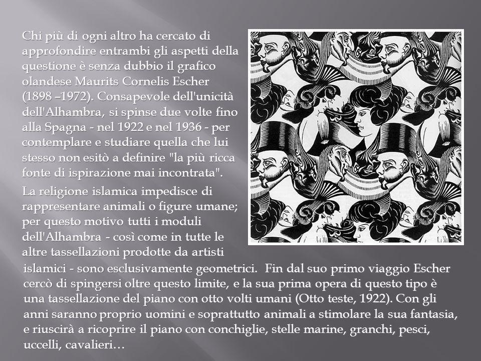 Chi più di ogni altro ha cercato di approfondire entrambi gli aspetti della questione è senza dubbio il grafico olandese Maurits Cornelis Escher (1898